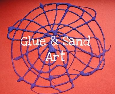 Gloopy Glue & Sand Art