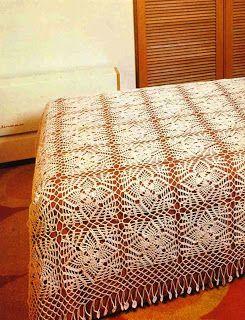 Style Crochet Couvre Lits En Bonneterie Plaids Dessus