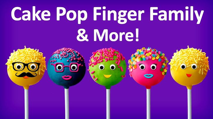 Cake Pop Finger Family Collection | Top 10 Finger Family Songs | Finger ...