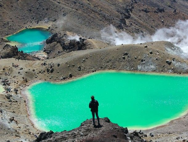 Sensational Earth Pictures - Emerald Lakes, New Zealand
