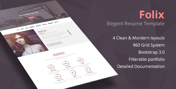 Design Portfolio  Design Portfolio is an HTML Template meant to - online resume portfolio
