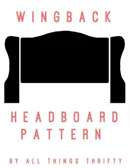 FREE Wing back headboard pattern