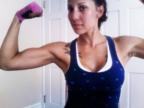 PROPER FORM instructional video for arms: biceps and triceps #fitfluential @girlrucki