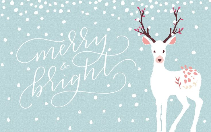 free holiday desktop wallpaper! design by Amanda Genther (www.amandagenther.com) and calligraphy by Paper & Honey (www.paperandhoney.com)