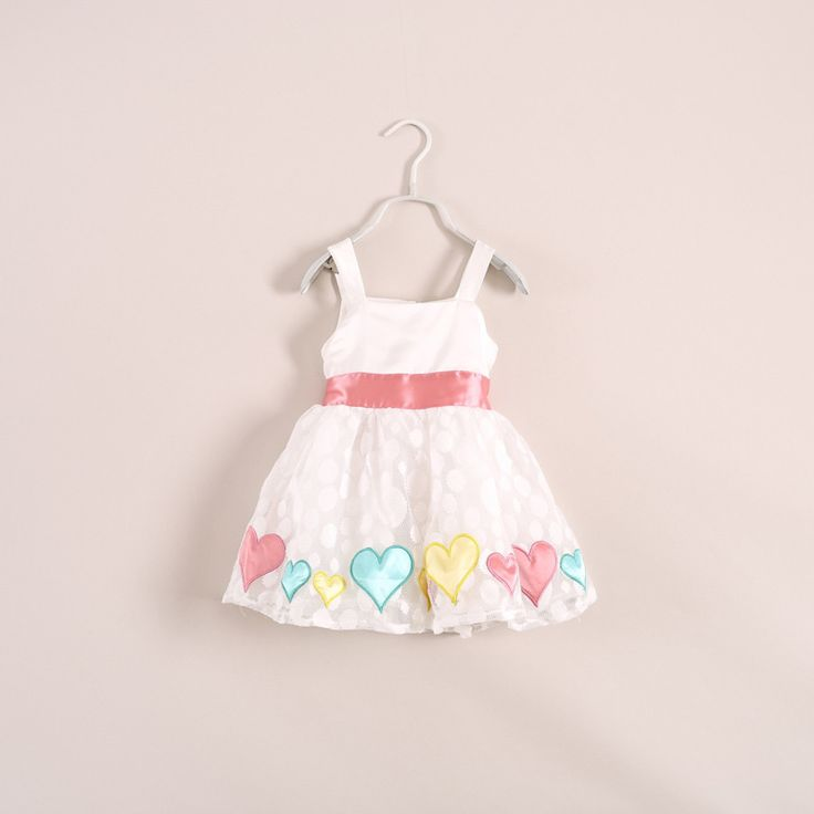 Too Cute - Heart Lace Party Dress!  Purchase here - http://www.kidsclothingrack.com.au/#!product/prd1/2769456661/super-cute-heart-patchwork-party-dress