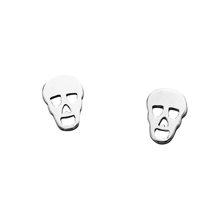 Karen Walker Mini Skull Earrings at Platina Jewellery