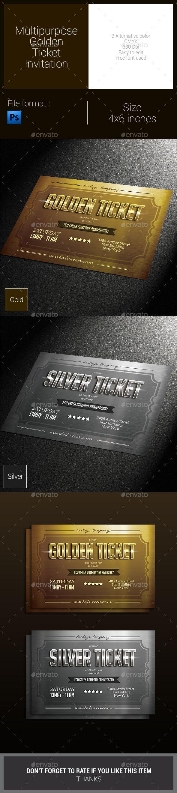 Best 25+ Golden ticket ideas on Pinterest | Pay my ticket, Get ...