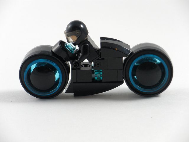 TRON Light Cycle by Ewok in Disguise, via Flickr