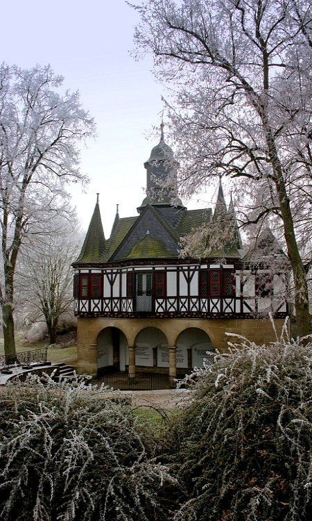Popperöder Brunnenhaus, Mühlhausen, Thüringen, Germany
