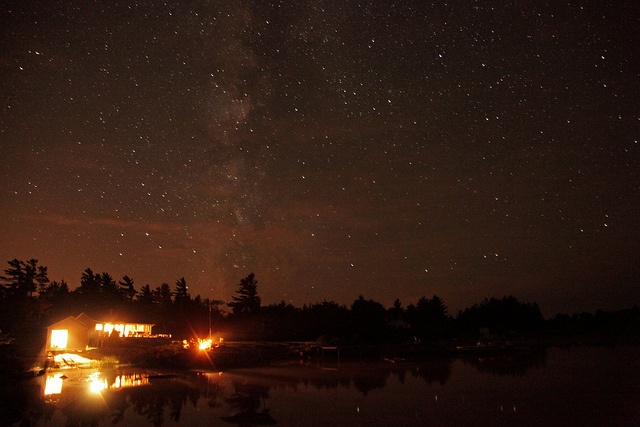 One of my most favorite places on earth. The milky way and stars in Georgian Bay.