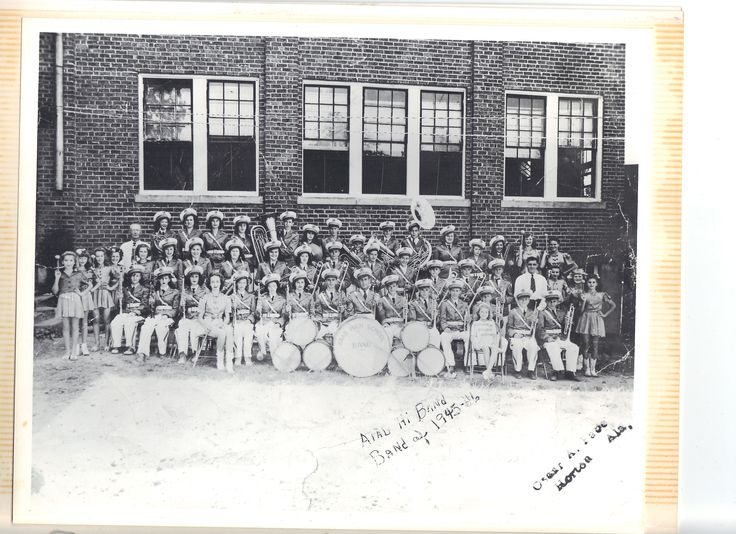 Arab High School Band 1945-46.