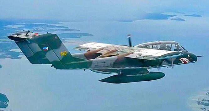 Philippine Air Force OV-10 Bronco.