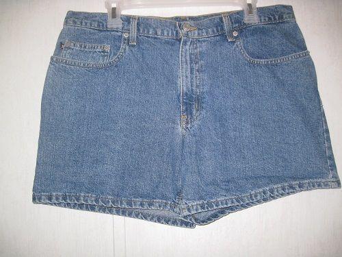 "RL Polo Jeans Company Womens Shorts Size 14 Denim 5"" Saturday 100% Cotton #PoloRalphLauren #CasualShorts"