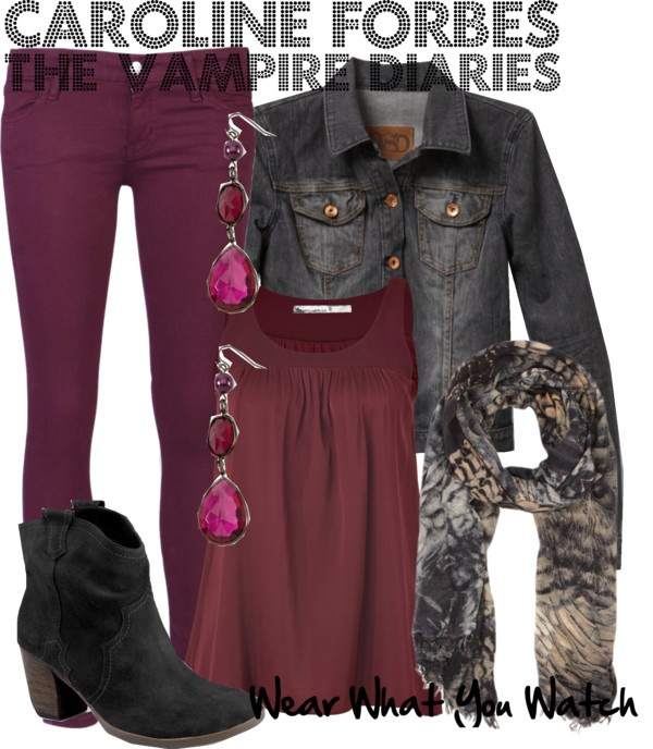 Inspired by character Caroline Forbes played by Candice Accola on The Vampire Diaries.