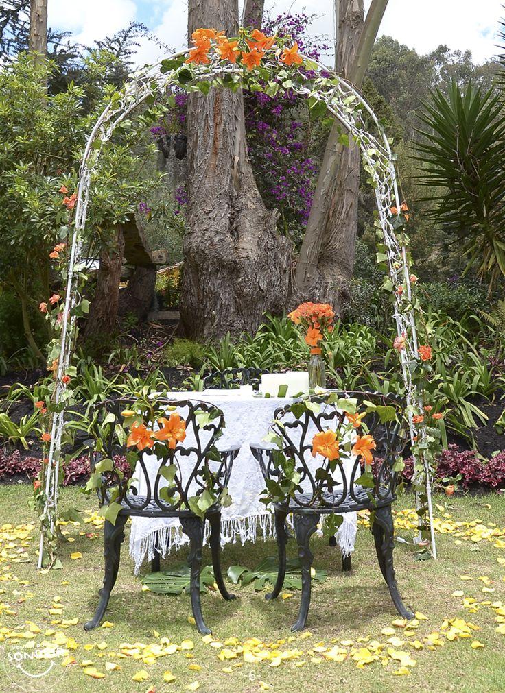 Arco para ceremonia
