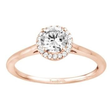 https://ariani-shop.com/diamond-round-solitaire-with-halo-set-in-14k-gold-1-ct-twt Diamond Round Solitaire with Halo set in 14K Gold (1 Ct Twt)