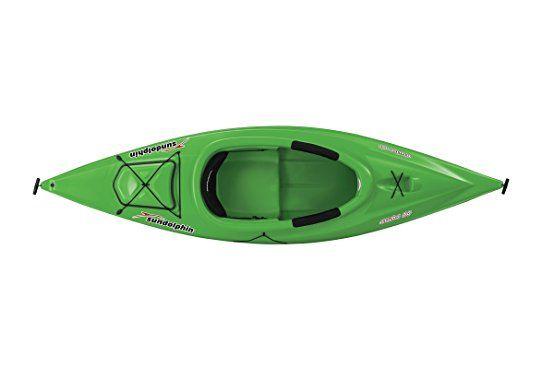 Amazon.com : Sun Dolphin Aruba Sit-in Kayak (Tangerine, 10-Feet) : Sports & Outdoors