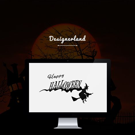 #halloween #pumpkin #webdesign #discount #website