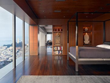 modern bedroom by Zack de Vito Architecture + Construction