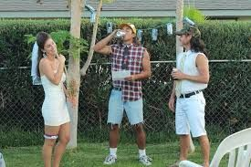 Image result for white trash costume for party
