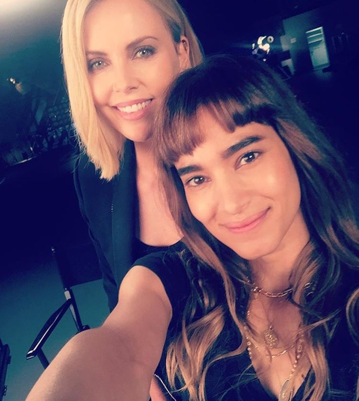 Charlize Theron and Sofia Boutella.