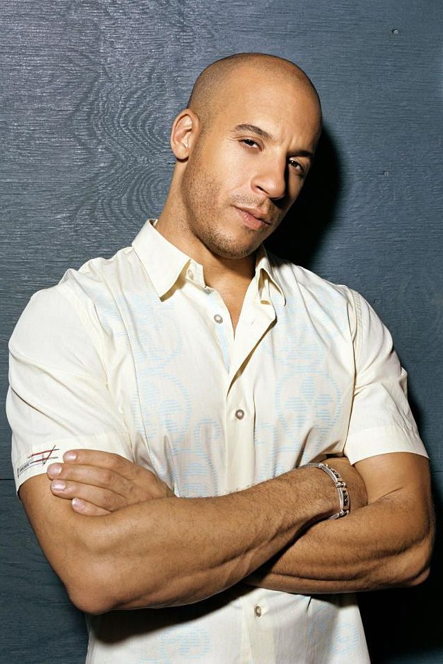 Vin Diesel - What a perfect specimen of the male sex!