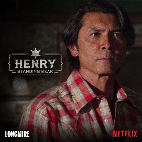 Henry Standing Bear! Longmire's photo.