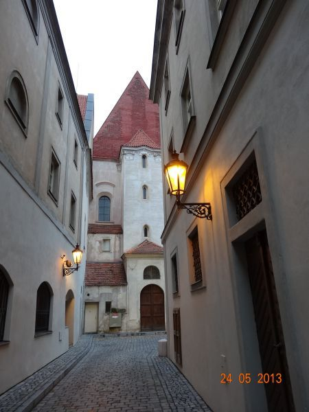 Uličky a průchody Starého Města