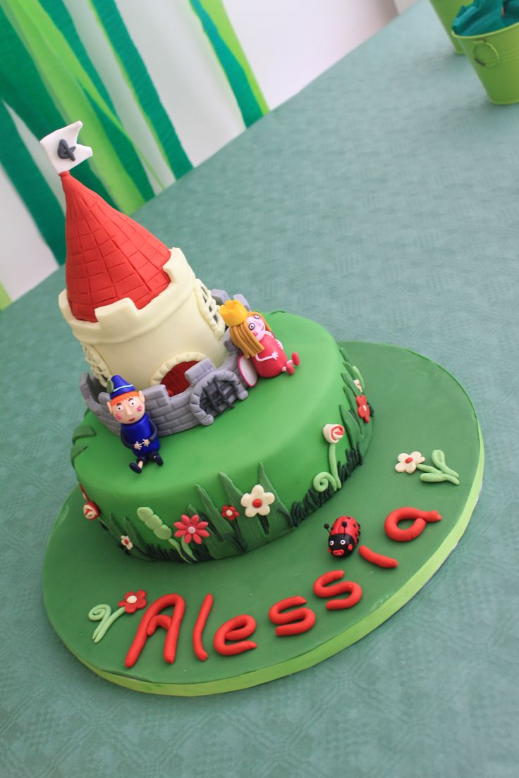 Ben and Holly birthday cake:  this was a bit tricky to make as it was so hot but am pleased with the final result