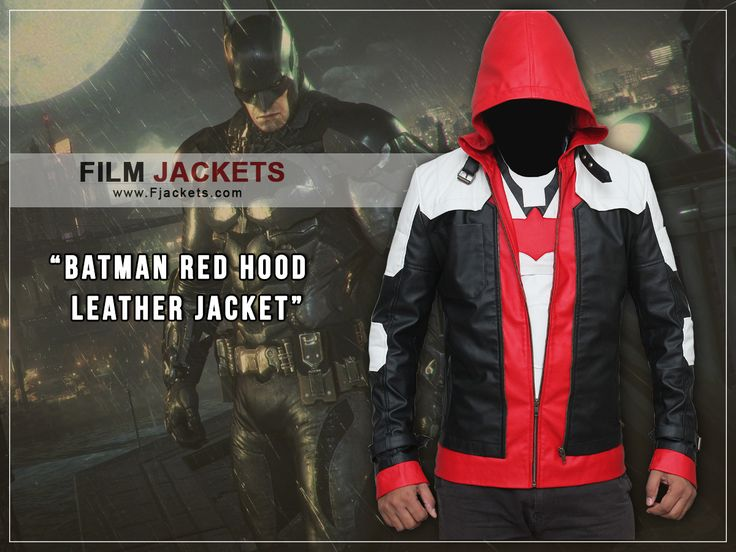 BATMAN RED HOOD LEATHER JACKET ►Screen Accurate Design ►Preferable For Casual Wear For All Seasons ►Best Choice For Cosplayers, Bikers & Gifts