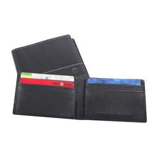 Ensemble cadeau de Swiss Gear comprenant portefeuille et porte-cartes –  Argent et cartes seront bien protégés. Cet ensemble se présente dans une jolie boîte cadeau.