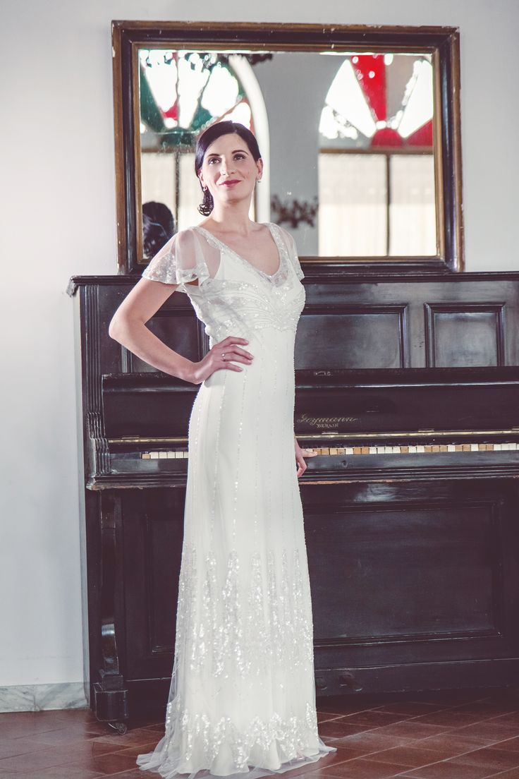 #JennyPackham #Foxglove Wedding dress