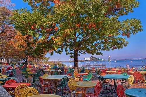 The memorial union terrace at uw madison fall in madtown for Madison terrace