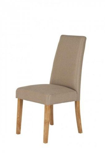 Hanbury Oatmeal Fabric Dining Chair