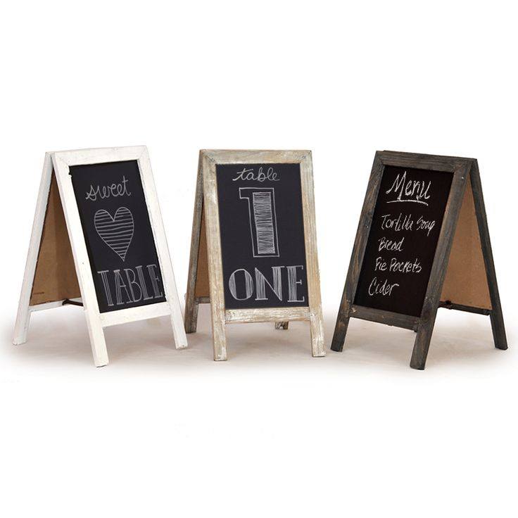 retail display wooden blackboard small wouldnt use for