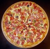 """Modern pizza has been attributed to baker Raffaele Esposito of Naples. In 1889, Esposito who owned a restaurant called the Pizzeria di Pietro baked what he called """"pizza"""" especially for the visit of Italian King Umberto I and Queen Margherita."""