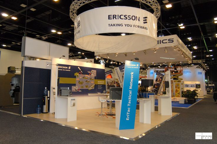 ERICSSON @ LANDWARFARE Ericsson is a major communications systems provider to the Australian Armed Forces. Its participation in security trade shows is therefore a crucial component of their marketing mix