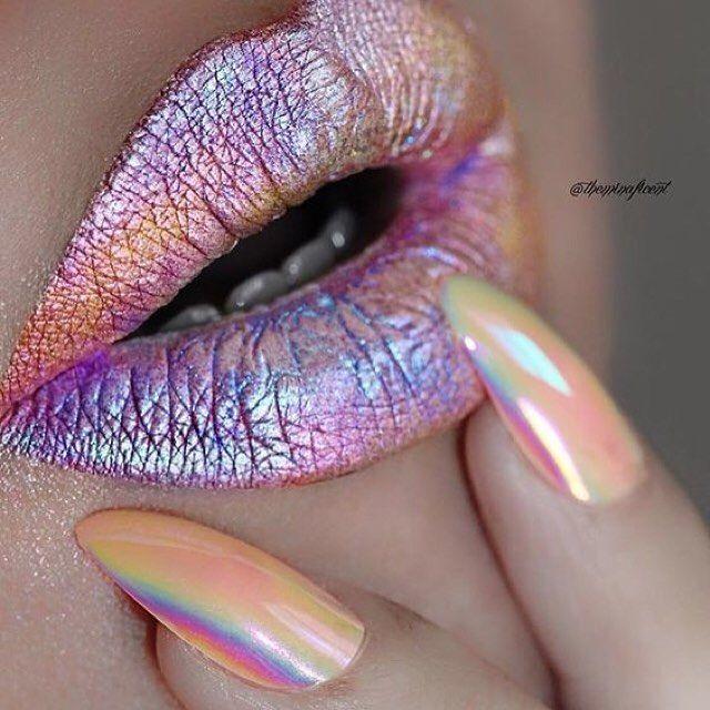 glitter metallic lips                                                                                                                                                                                 More
