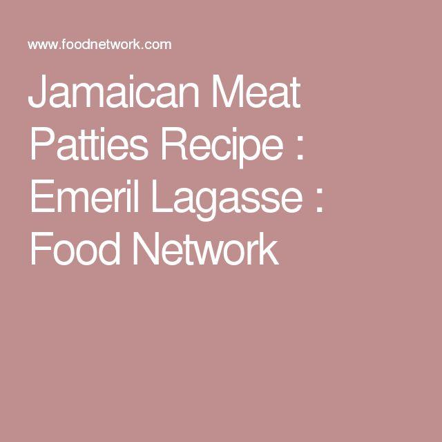 Jamaican Meat Patties Recipe : Emeril Lagasse : Food Network