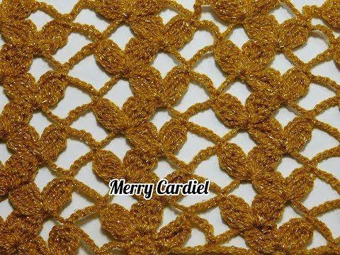 So beautiful!!!!como tejer red de pétalos a crochet - YouTube