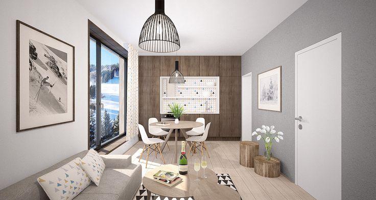 Pro bytový dům Svatý Vavřinec, navržený ateliérem OV-architekti jsme vytvořili řešení interiérů 2 stylů bytů, interiér společných prostor a wellness.  Připravili jsme základ grafického řešení, kdy každému stylu interiéru přísluší vlastní geometrický vzor. Ve společných prostorech se pa...
