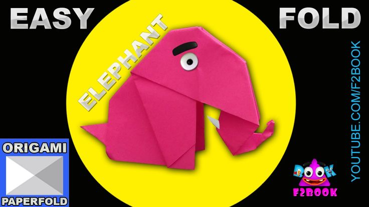 Easy Origami Elephant Folding Instructions Video 55 f2book