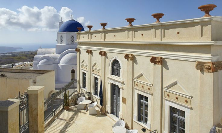 The palatial Zannos Melathron hotel. www.secretearth.com/accommodations/37-zannos-melathron