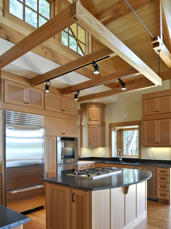 Suspended Truss For Track Lighting Kitchen Pinterest