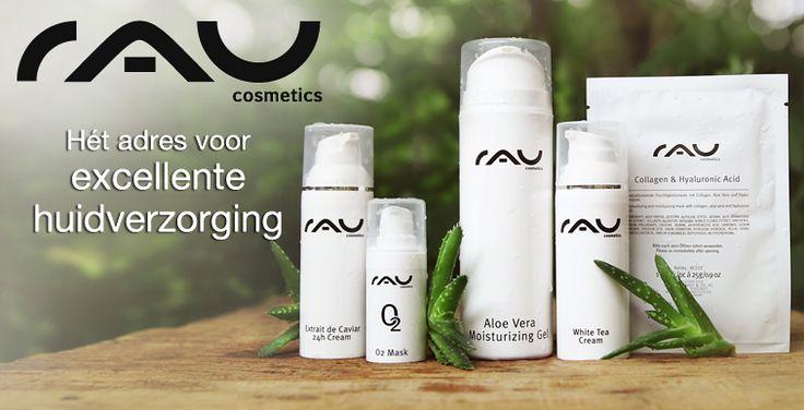 RAU Cosmetics; hét adres voor excellente huidverzorging. Verzorging zonder minerale oliën en parabenen.