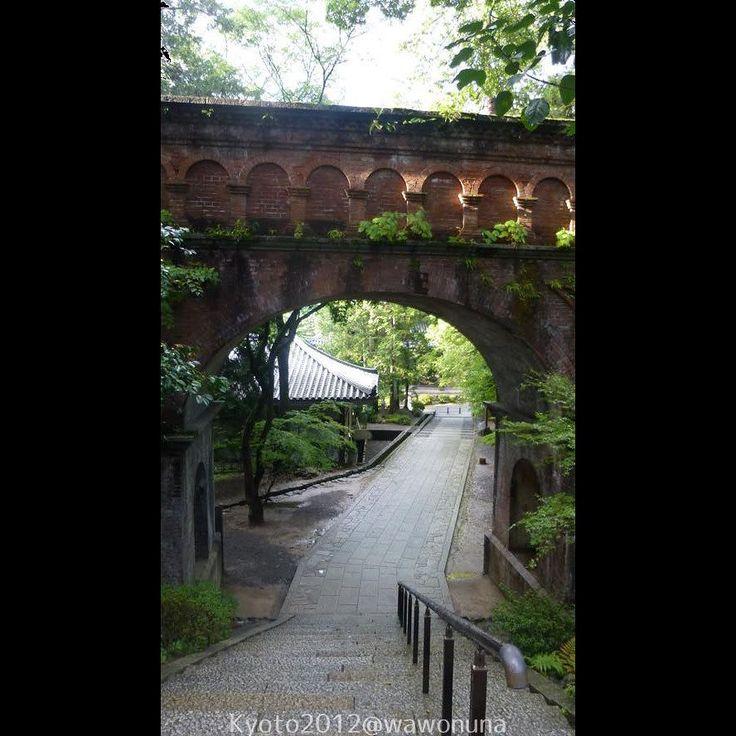 Kyoto2012 Nanzenji Sosui (acueducto) #kyoto #paisaje #japon #templo #nanzenji #acueducto