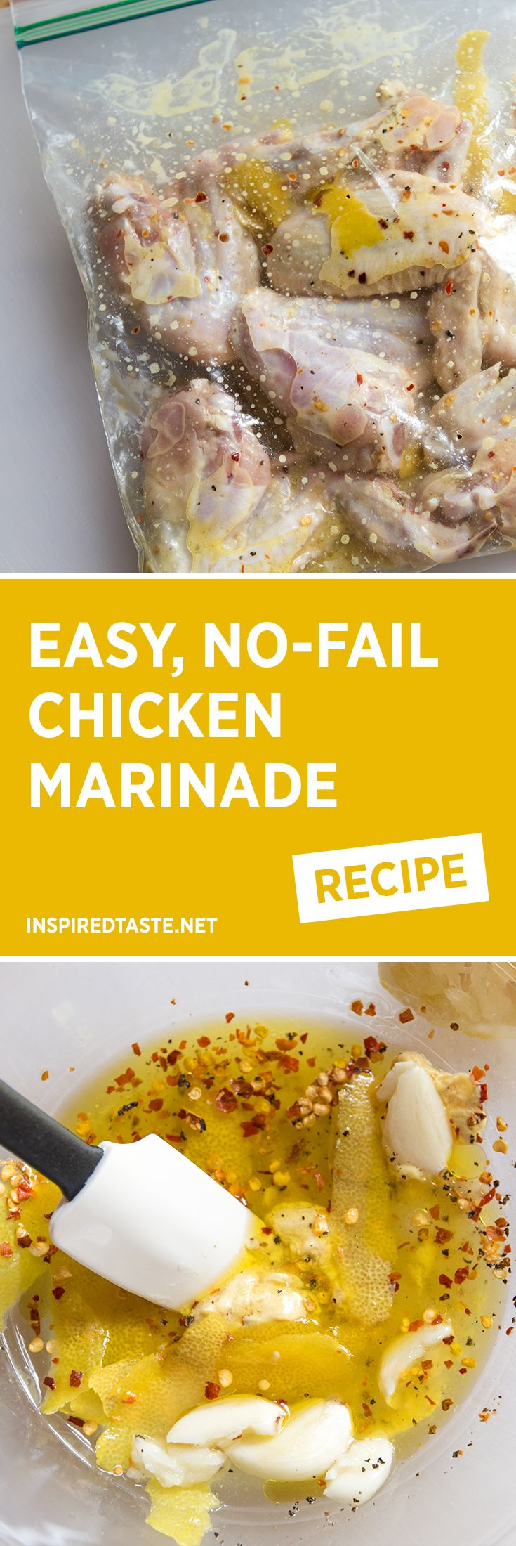 If you're on the lookout for a simple, no-fail chicken marinade recipe, you've found it. Use this for baked or grilled chicken.