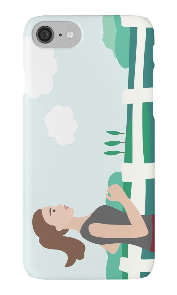 Fresh Air Runner by XOOXOO  Running Girl  iPhone Cases & Skins  PHONE CASE FOR IPHONE 4/4S/5/5C/5S/6/6 PLUS/ 7/7 PLUS