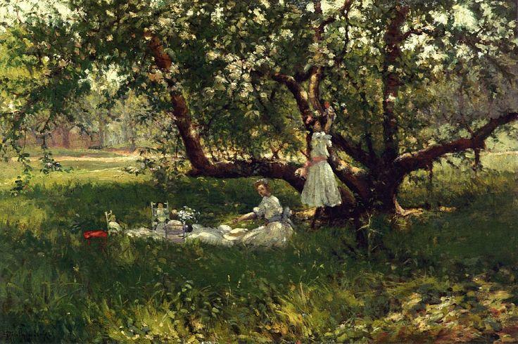.The Old Apple Tree: Robert Julian Onderdonk