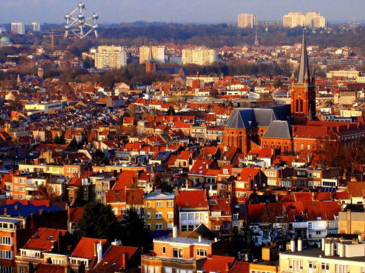 Город Брюссель Бельгия столица фото